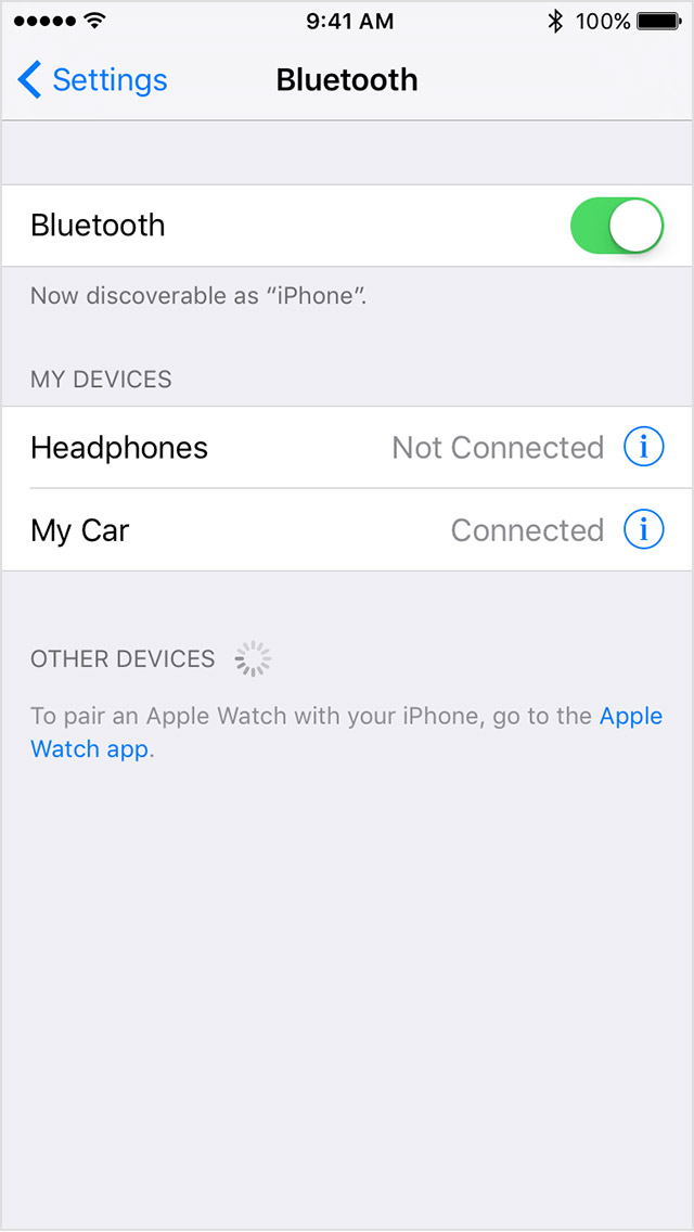 iphone not connecting to bluetooth bluetooth device not showing up on iphone picture 15 8762