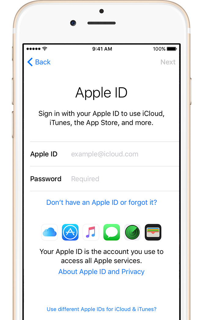 Get Started With Iphone Ipad And Ipod Touch Apple Support