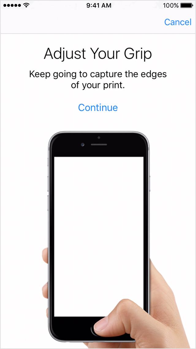 Cara Mengatur Touch ID iPhone
