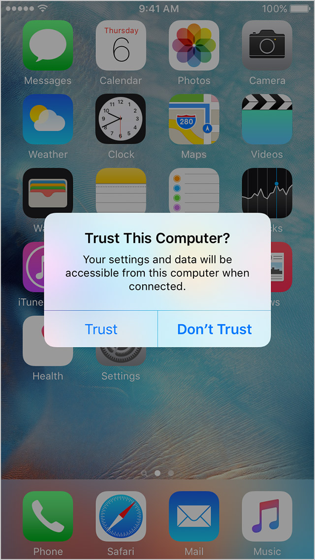iphone trust this computer about the trust this computer alert on your iphone 15508