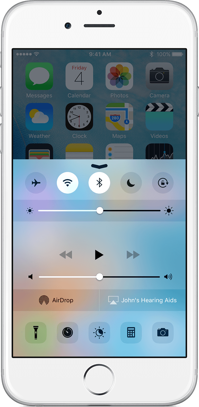 Use live listen with made for iphone hearing aids apple support get help if you dont see live listen ccuart Images