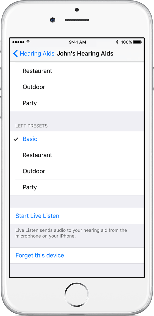 Use Live Listen With Made For IPhone Hearing Aids Apple Support - How to make an invoice on iphone