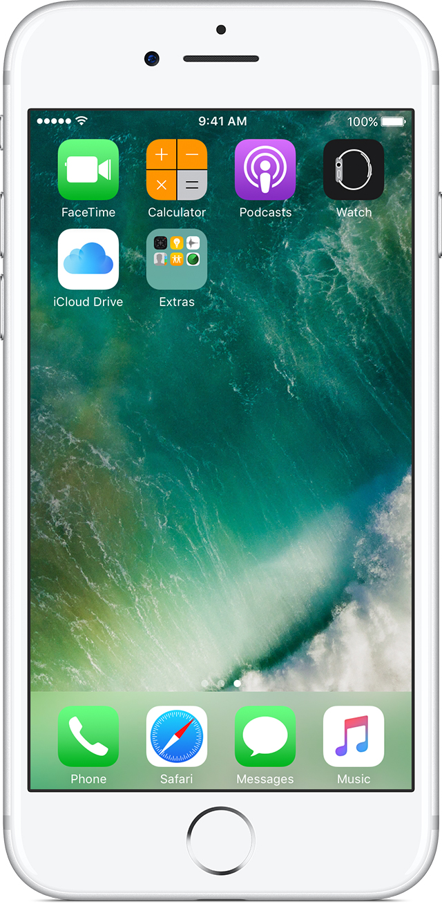 How To Move Apps And Create Folders On Your Iphone, Ipad, Or Ipod Touch   Apple Support