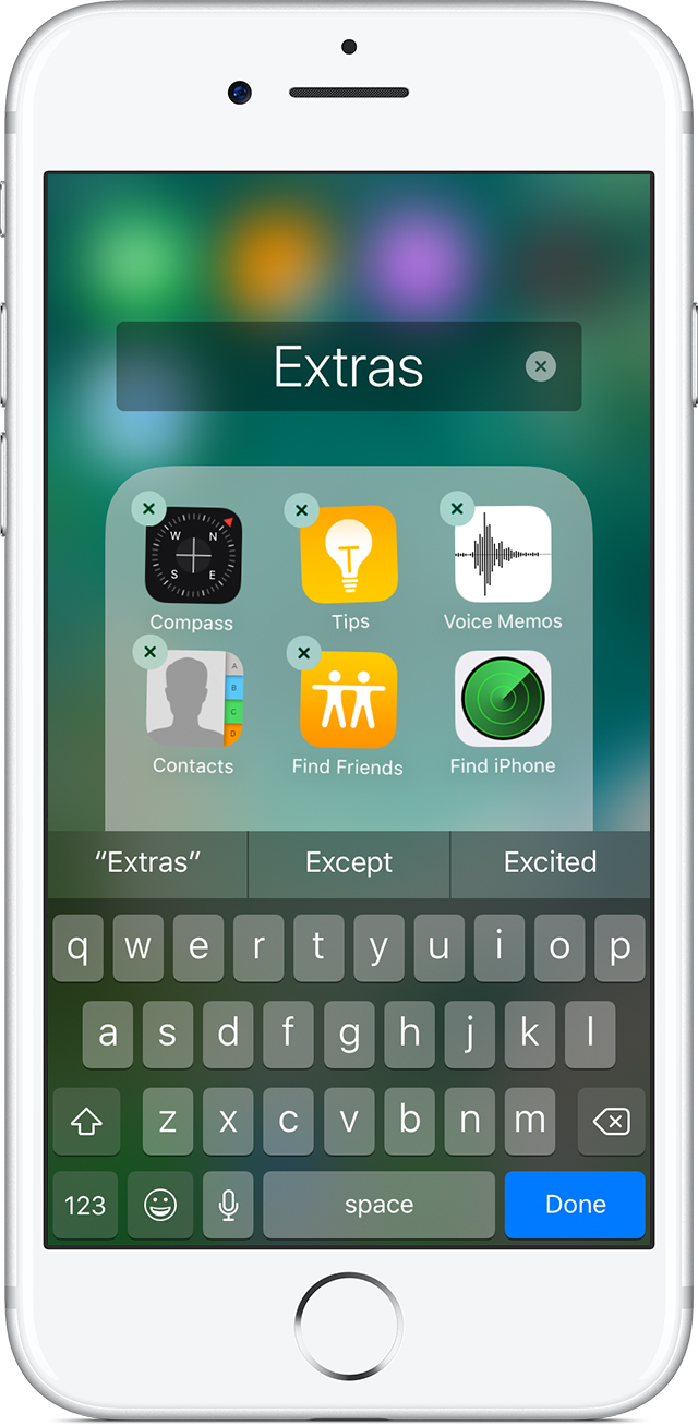 How to Make Folders and Group Apps on the iPhone 2