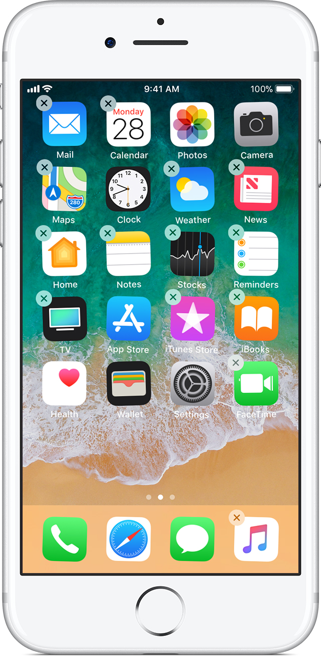 How to move apps and create folders on your iphone ipad for Picture apps for iphone
