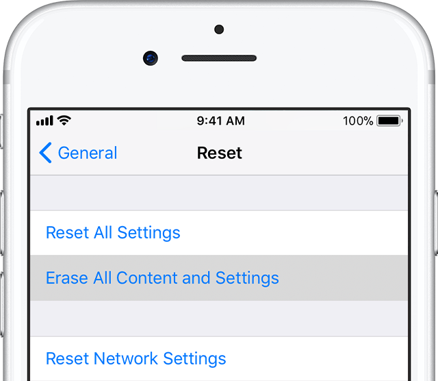 Erase All Content and Settings from your iPhone