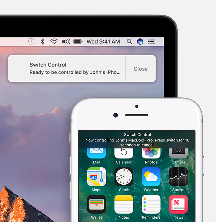 control iphone from mac use accessibility to your apple devices from a 13865