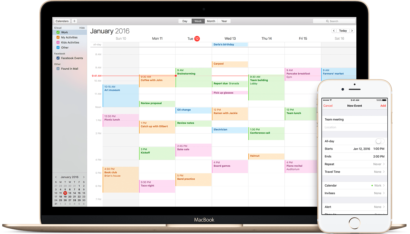 Desktop Calendar Mac : Keep your calendar up to date with icloud apple support
