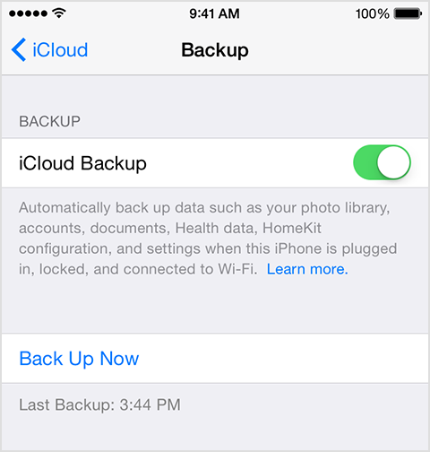 how to restore iphone from icloud backup how to back up your devices using icloud or itunes apple 3028