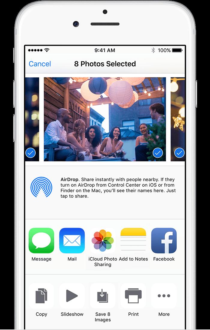 iPads / iCloud Sharing