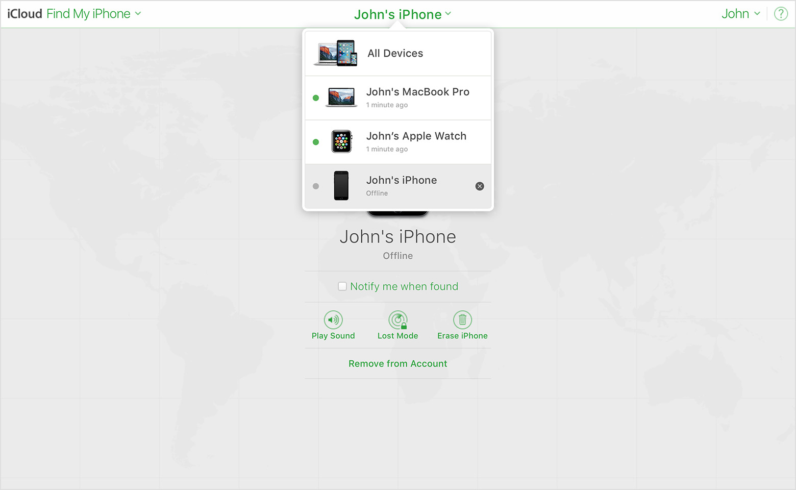 how to delete find my iphone get help with find my iphone apple support 7559