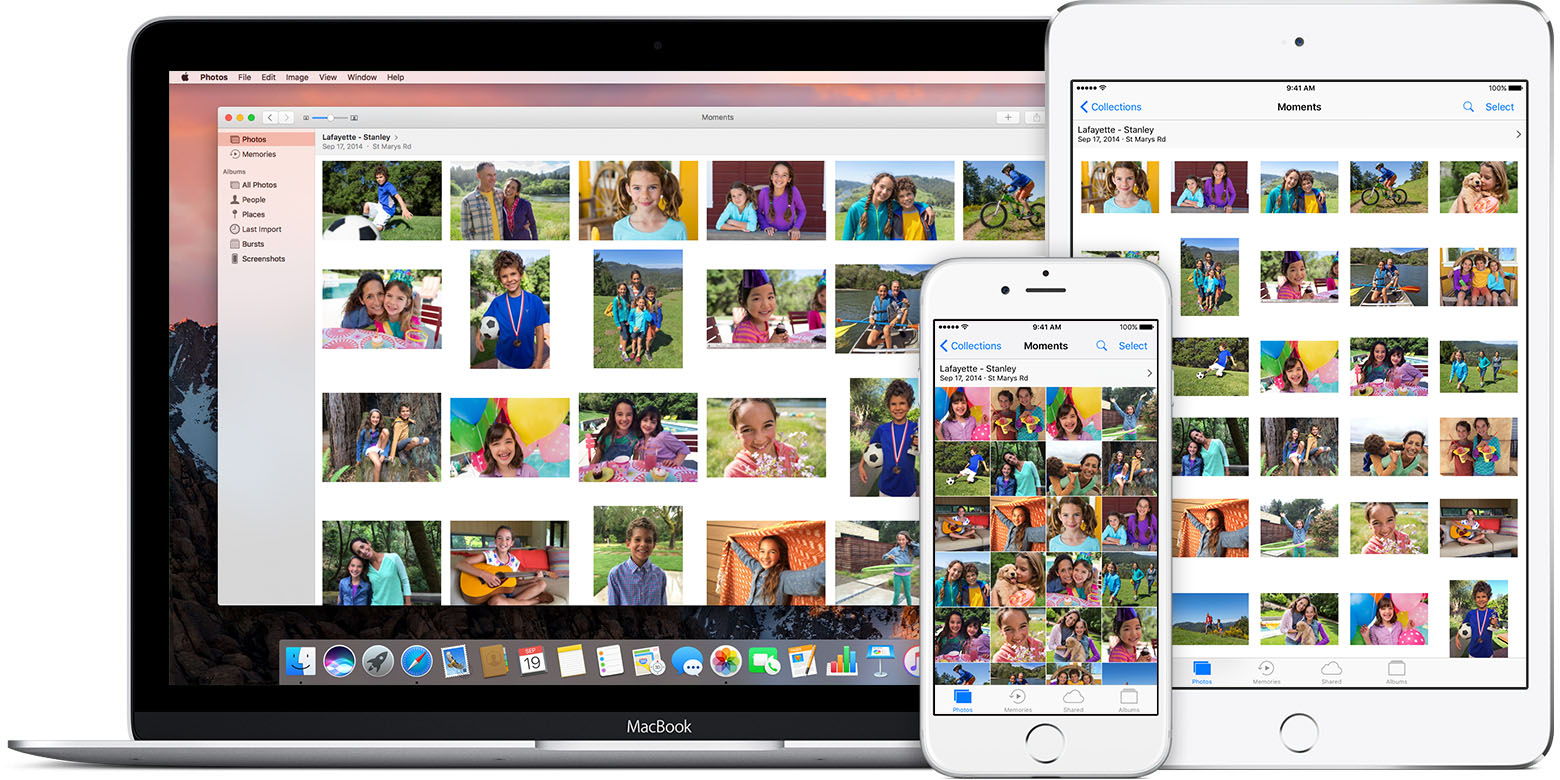 With Icloud Photo Library, You Can Access Your Photos And Videos From Your  Iphone, Ipad, Ipod Touch, Mac, Apple Tv, On Icloud, And Even Your  Windows Pc