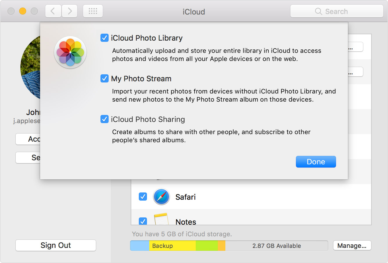 Add photostream to icloud Change iCloud Settings - Solve Your Tech