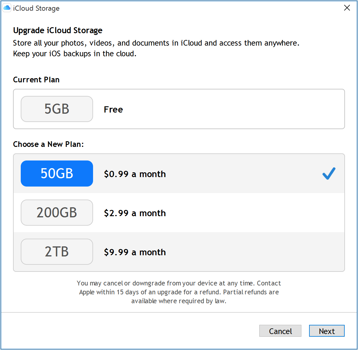 More Icloud Storage From Your Pc