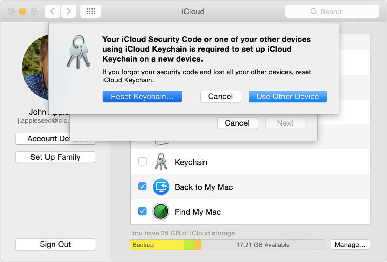 How to reset Keychain Password On Mac 91063f9f6
