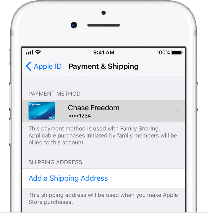 Family Purchases And Payments Apple Support - Apple numbers invoice system