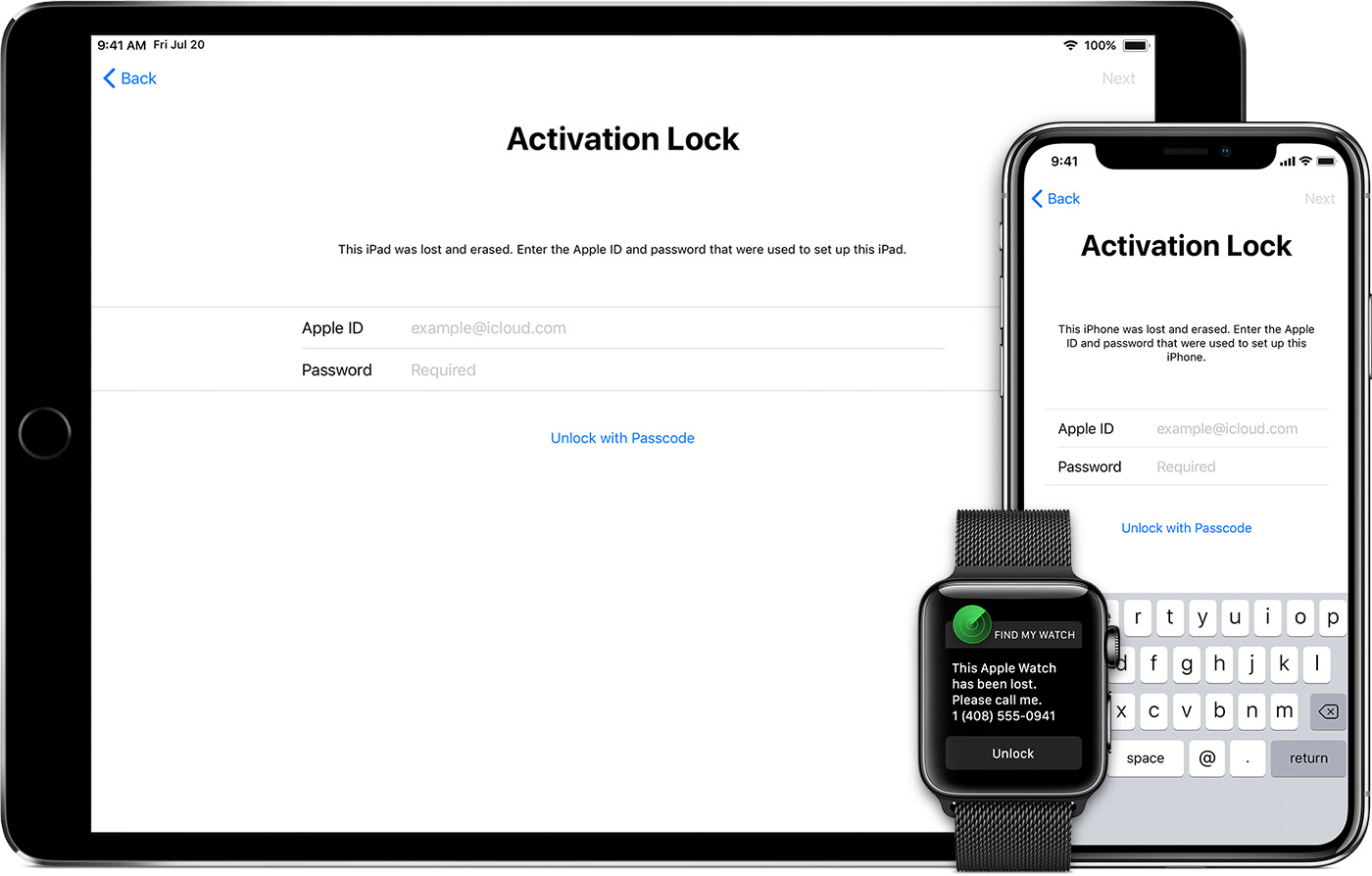 Find My iPhone Activation Lock - Apple Support