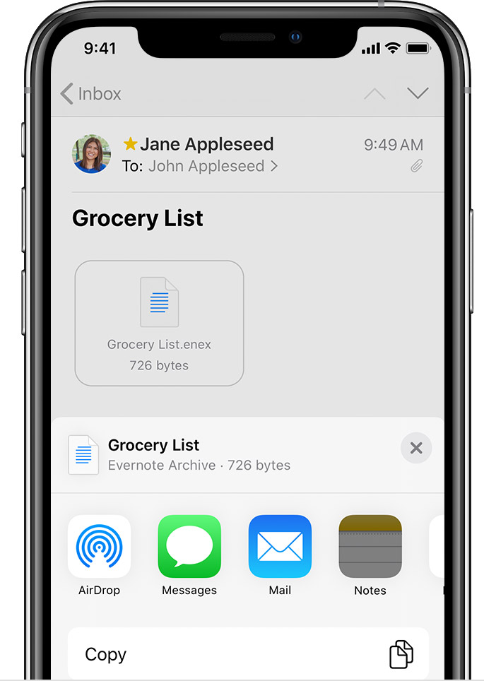 Import Your Notes And Files To The Notes App Apple Support