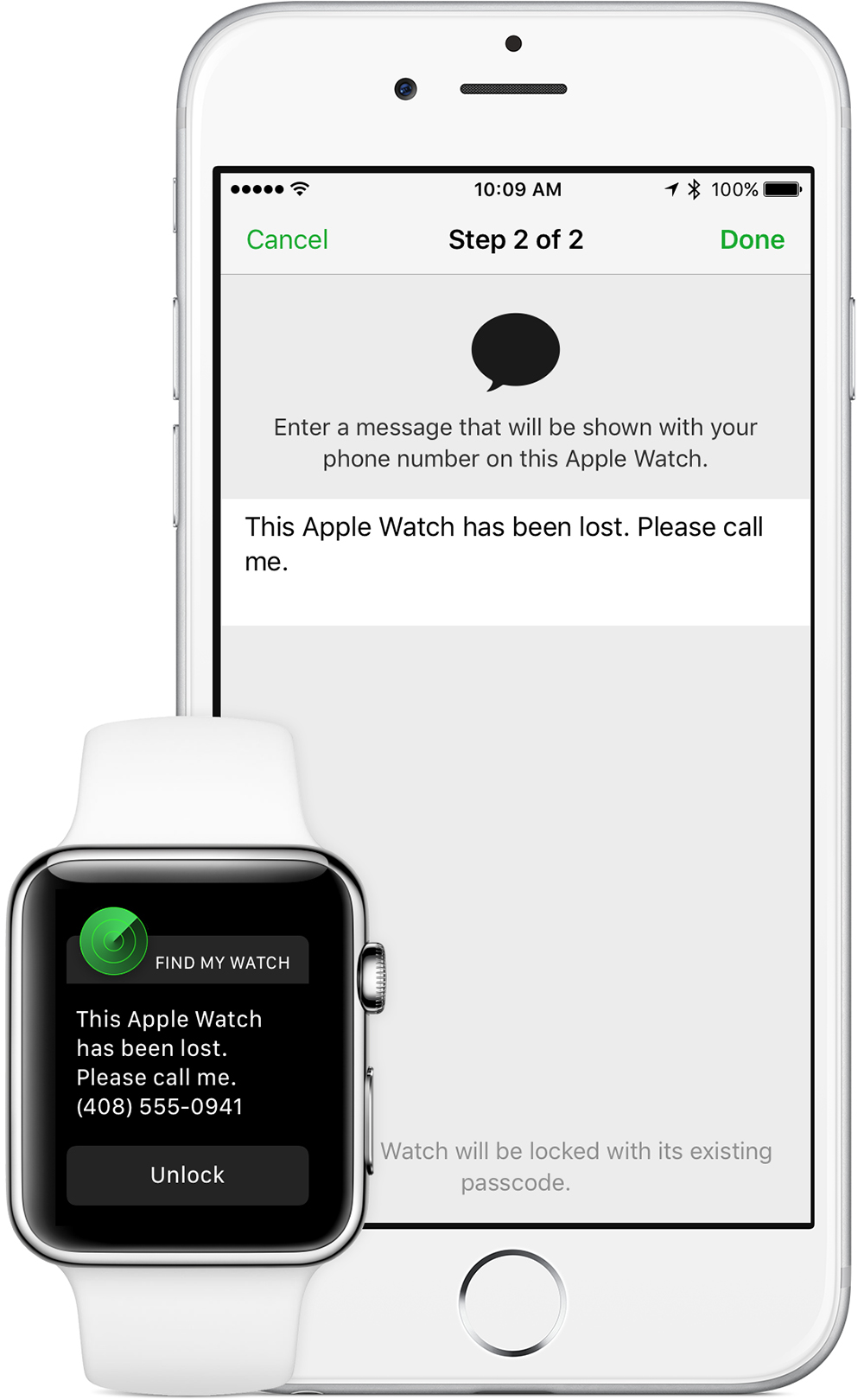 Put Your Apple Watch In Lost Mode