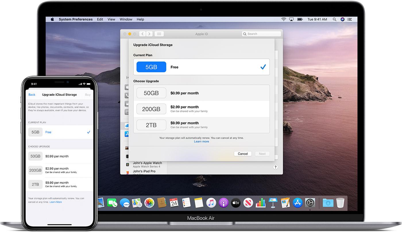 Buy More Icloud Storage Apple Support