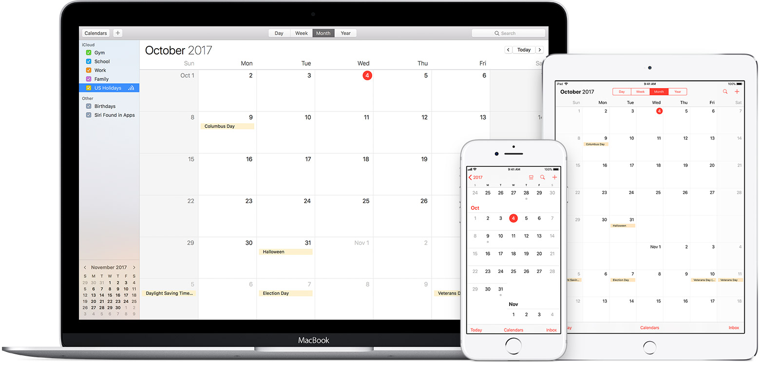 use icloud calendar subscriptions apple support