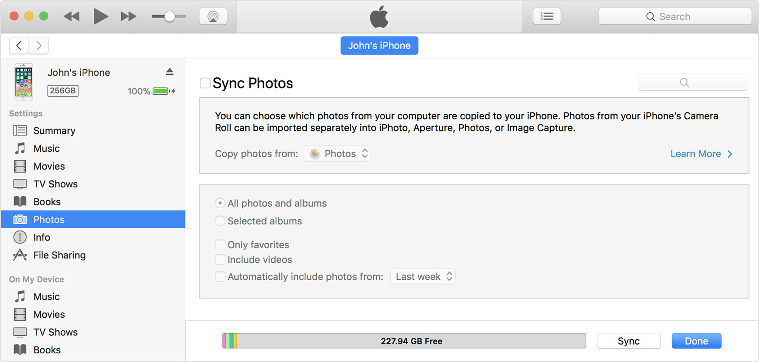 keep your photos safely stored and up to date on all of your devices rh support apple com Sync iPhone Contacts to PC Apple iTunes Sync iPhone