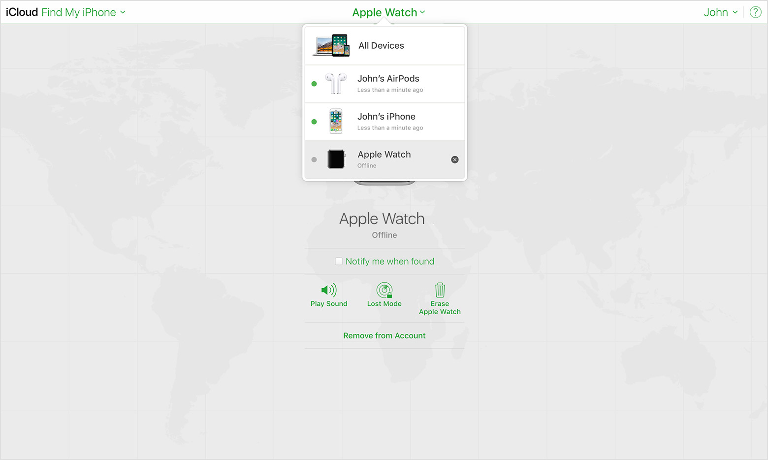 find my iphone from mac get help with find my iphone apple support 16924