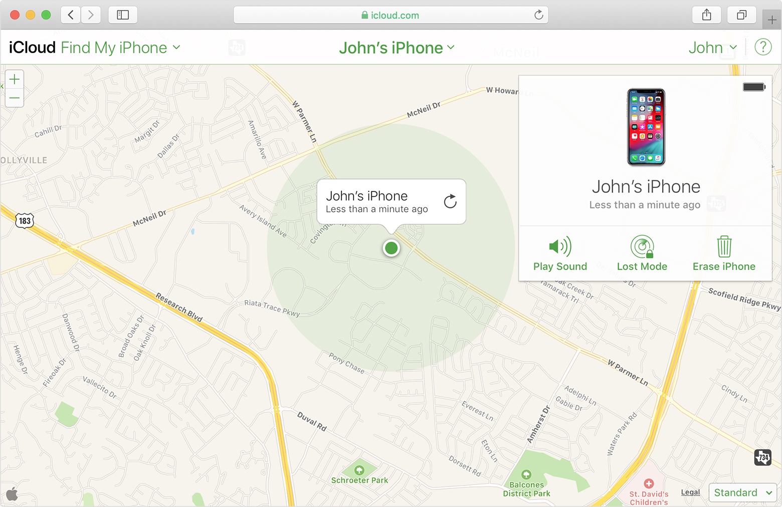 Get help with Find My iPhone - Apple Support