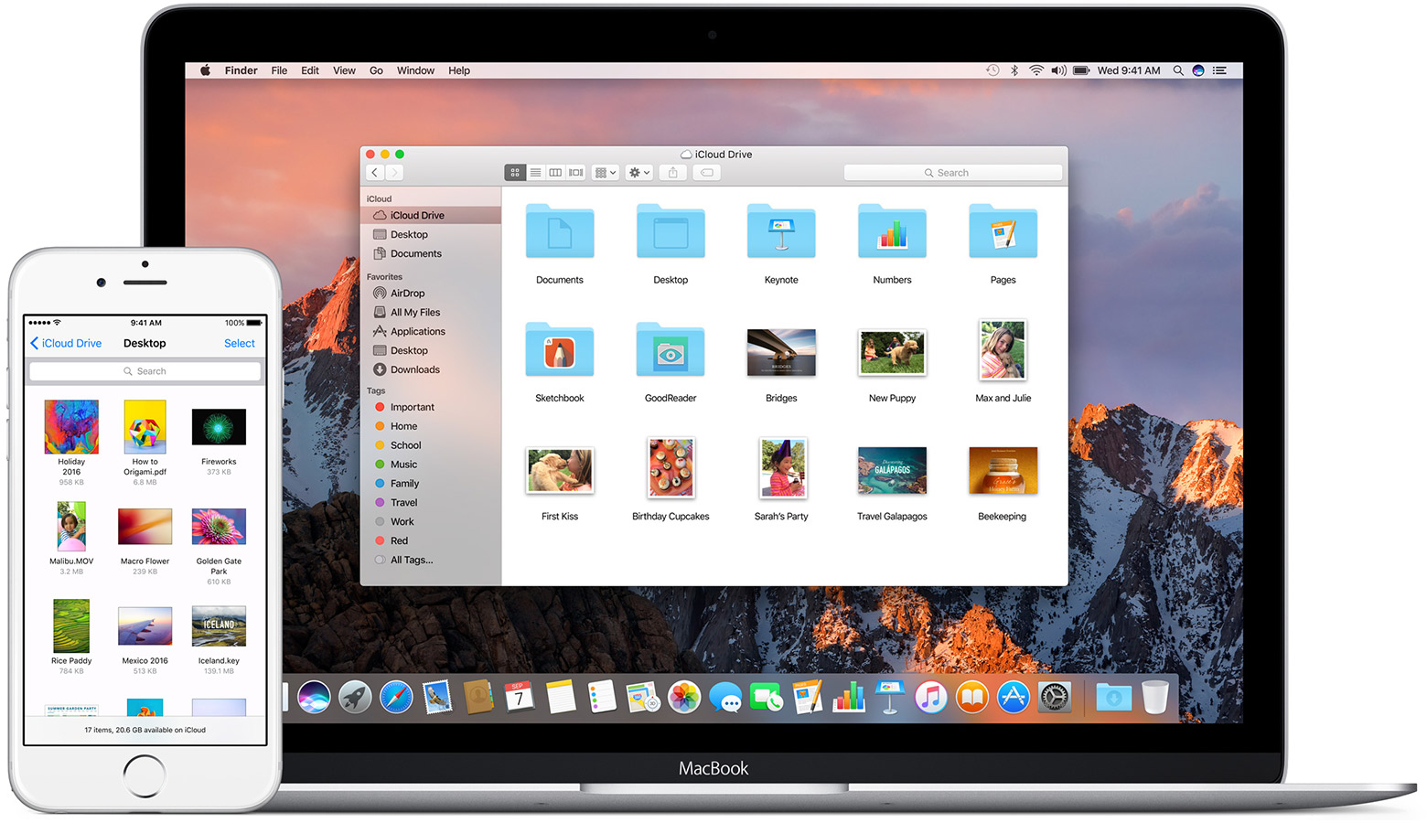 how to add icloud device on macbook