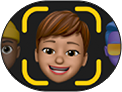 Memoji button