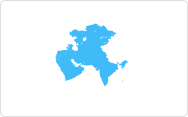 Middle East and India map