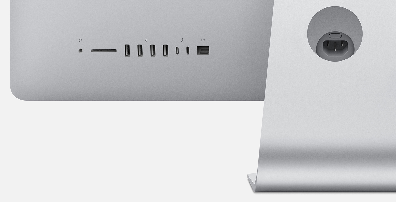 Does the new imac have a sd card slot locking mail slots for office