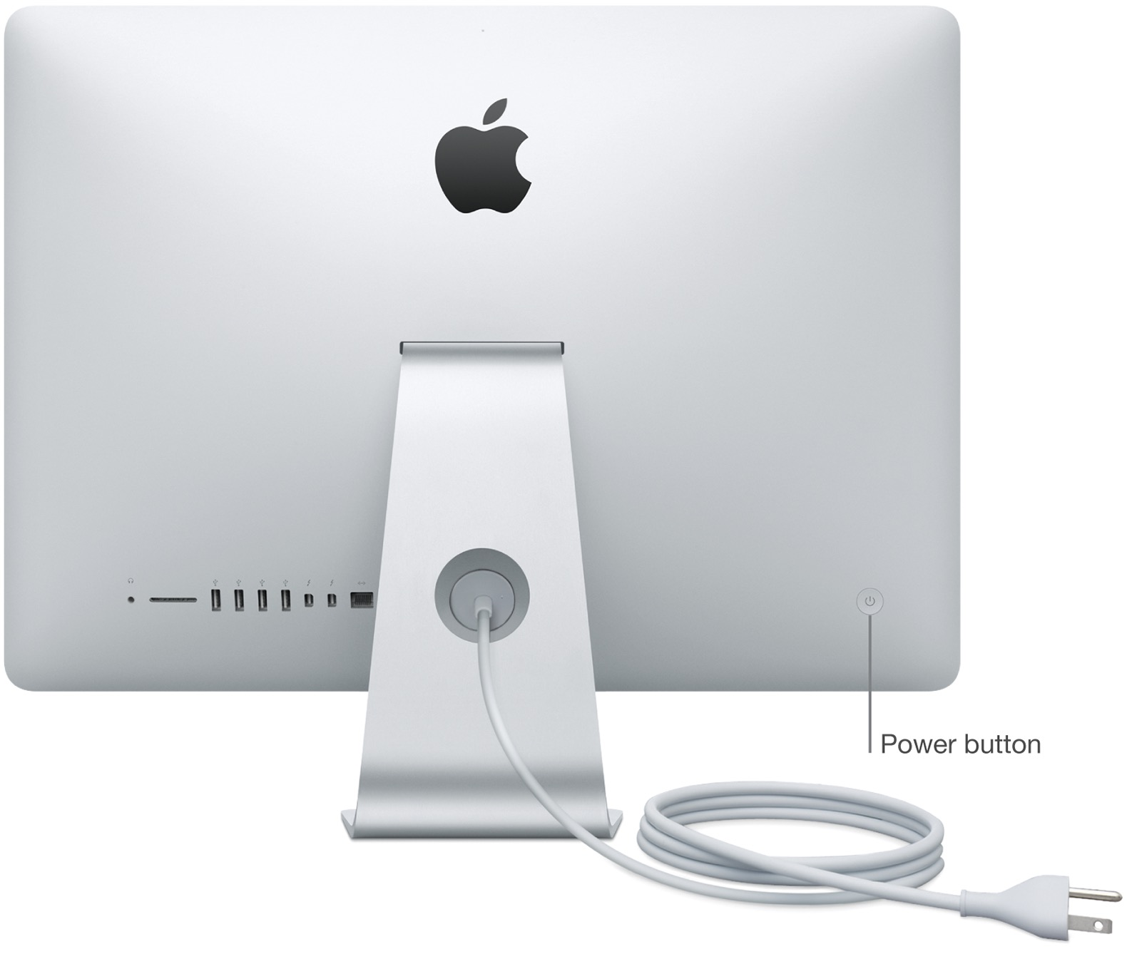 iMac power button