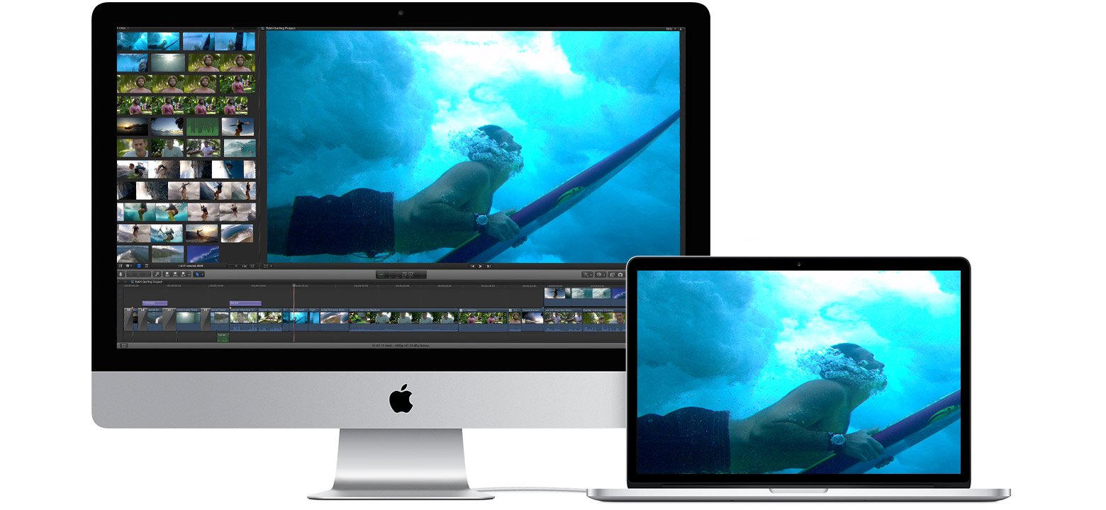 Use your iMac as a display with Target Display Mode - Apple