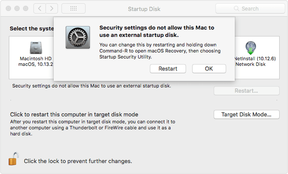 About Startup Security Utility - Apple Support