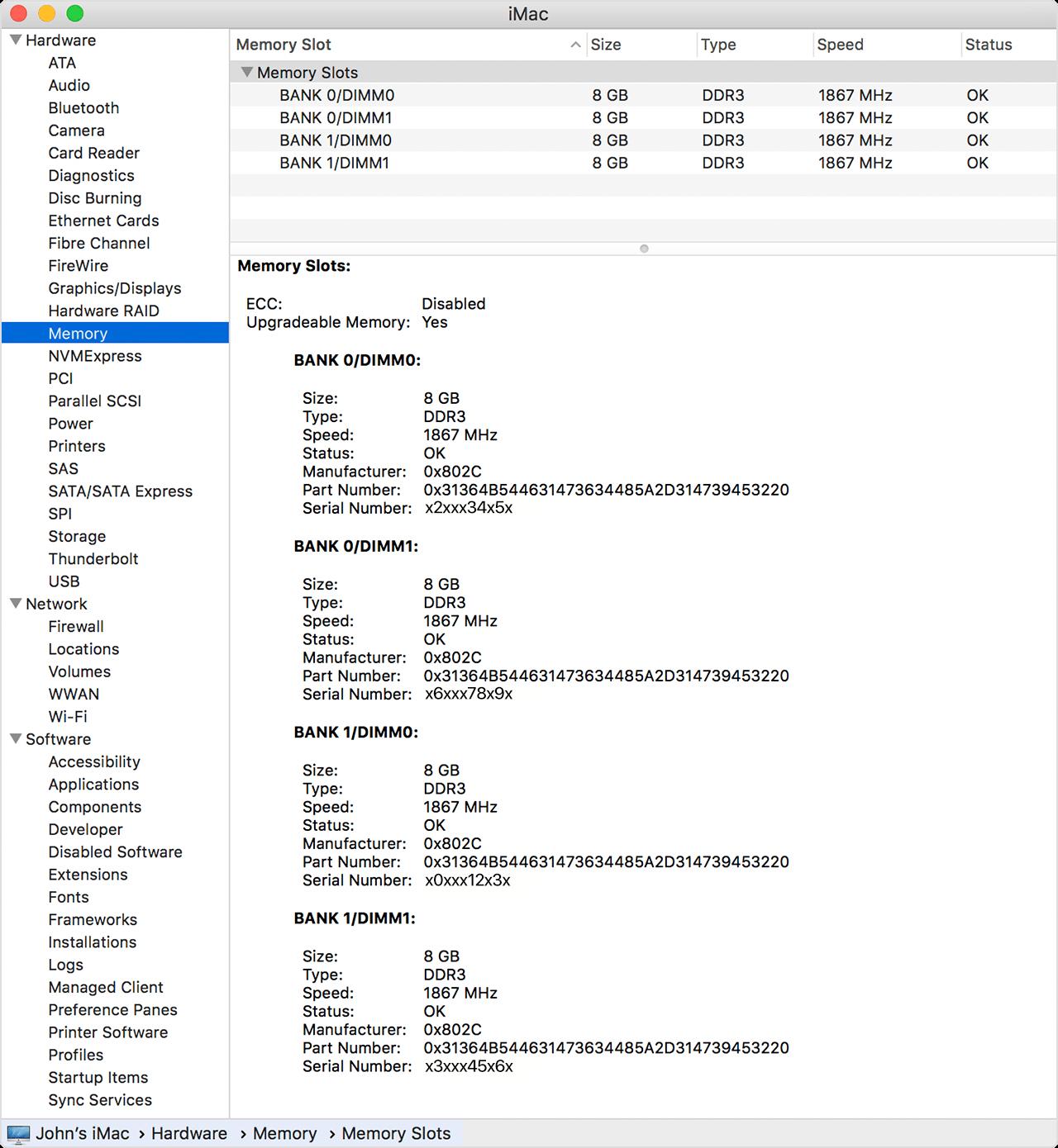 apple z0tr. system information apple z0tr