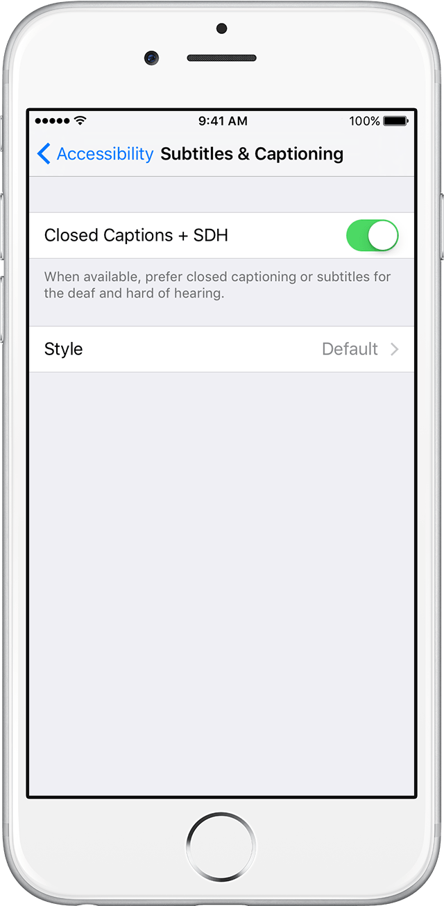 Turn On Closed Captions And Subtitles On Your Iphone Ipad Or Ipod