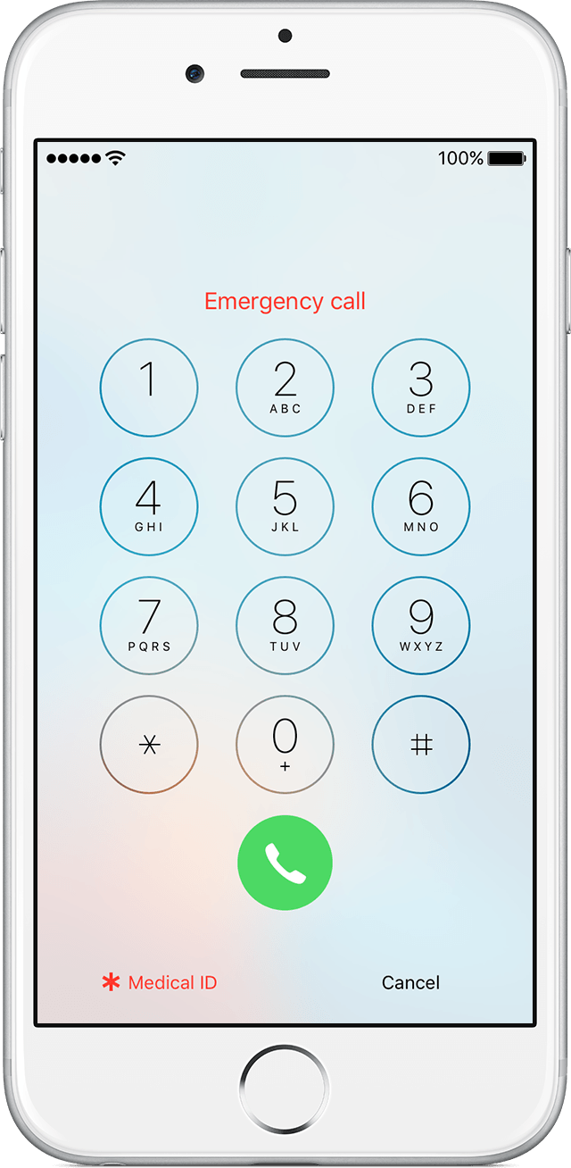 iphone emergency call browzer margaret 11816
