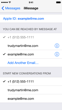 how to change voicemail message on iphone se
