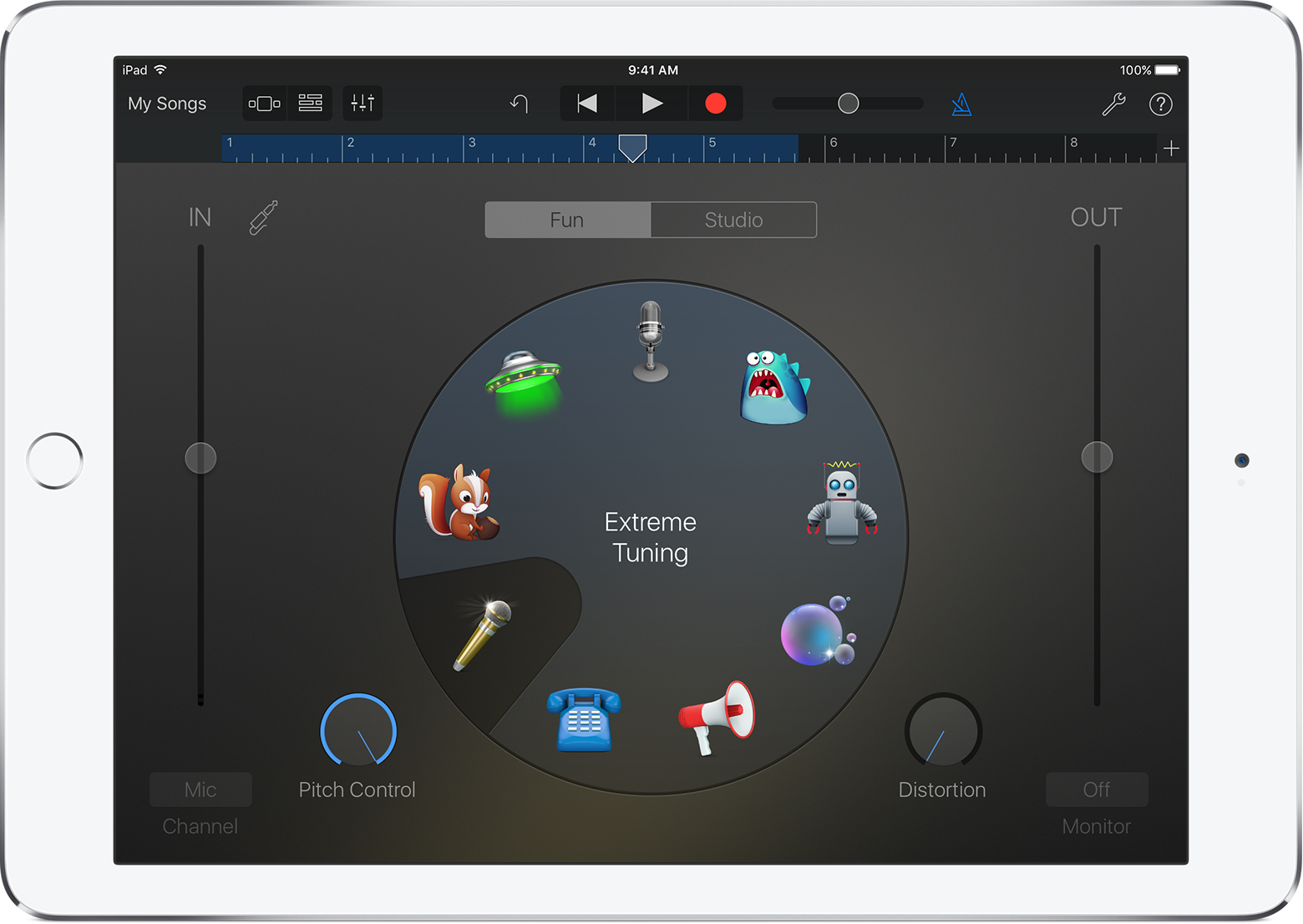 Use Extreme Tuning in GarageBand for iOS - Apple Support