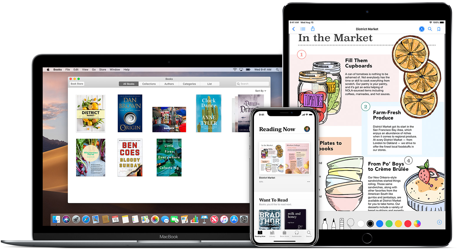 ... add PDFs to your Apple Books Library on your iPhone, iPad, iPod touch,  or Mac, then access your files on any of your other devices using iCloud  Drive.