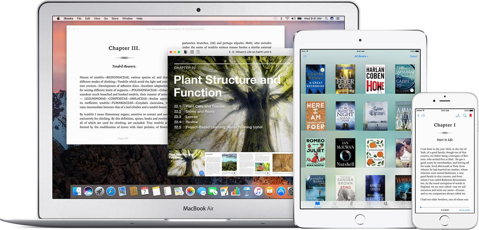 Почему ibooks не открывает книги