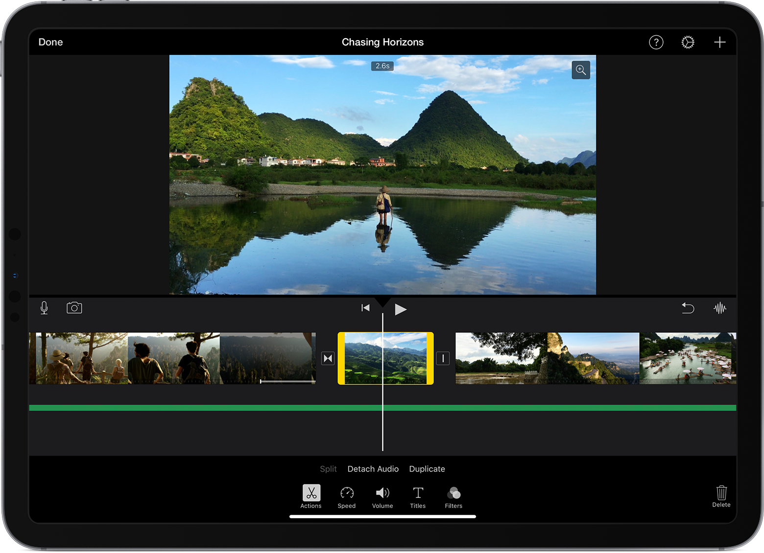 Edit video in iMovie on iPhone, iPad, iPod touch, and Mac - Apple ...
