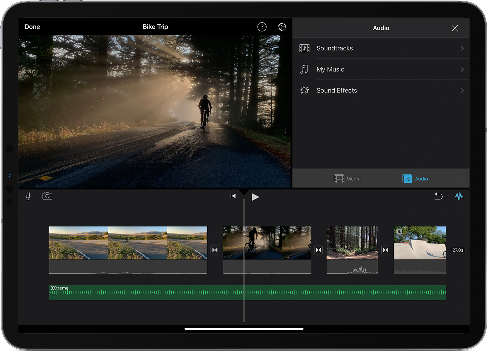 Add Music Sound Effects And Voiceover In Imovie Apple Support