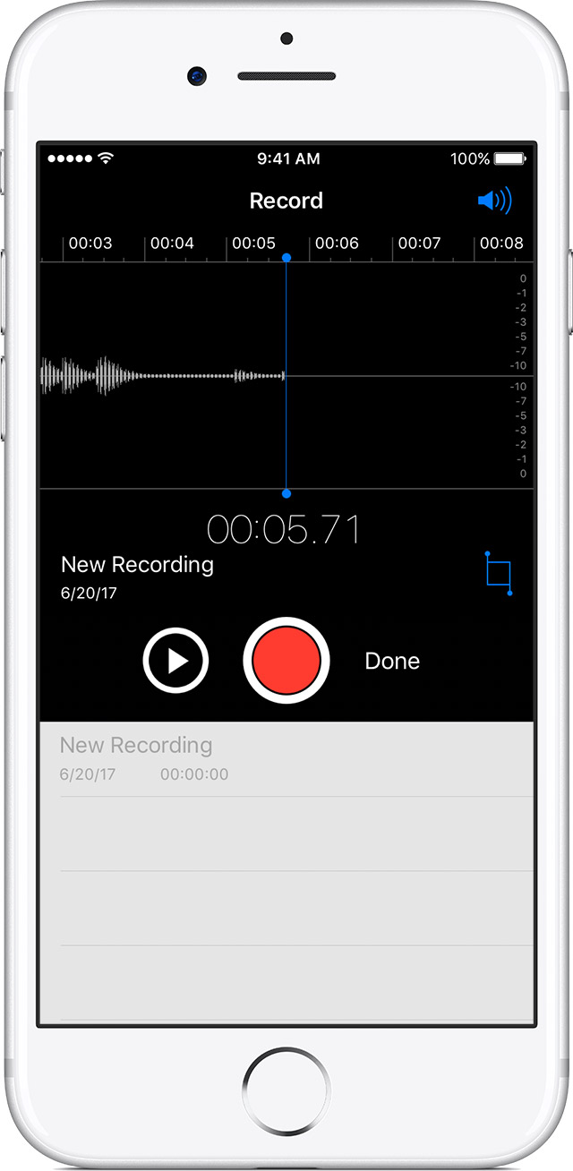 voice memos on iphone