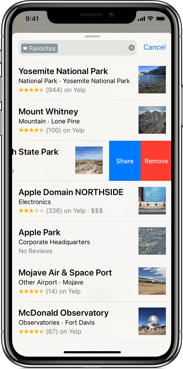 Use Maps on your iPhone, iPad, or iPod touch - Apple Support