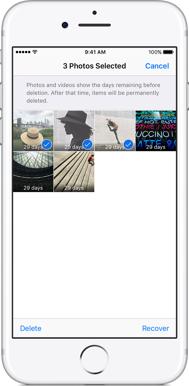 Get help with missing photos - Apple Support