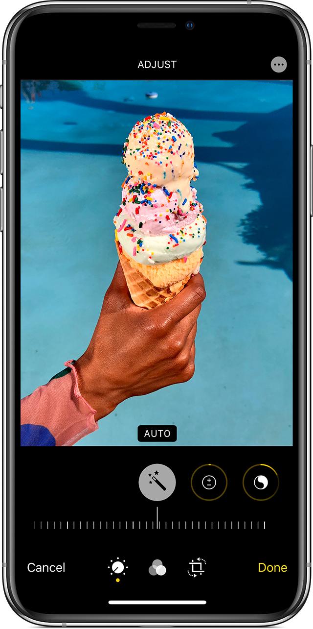 приложение на айфон чтобы замазать часть фото стадии питания