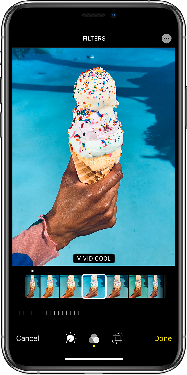 Take and edit photos with your iPhone, iPad, and iPod ...