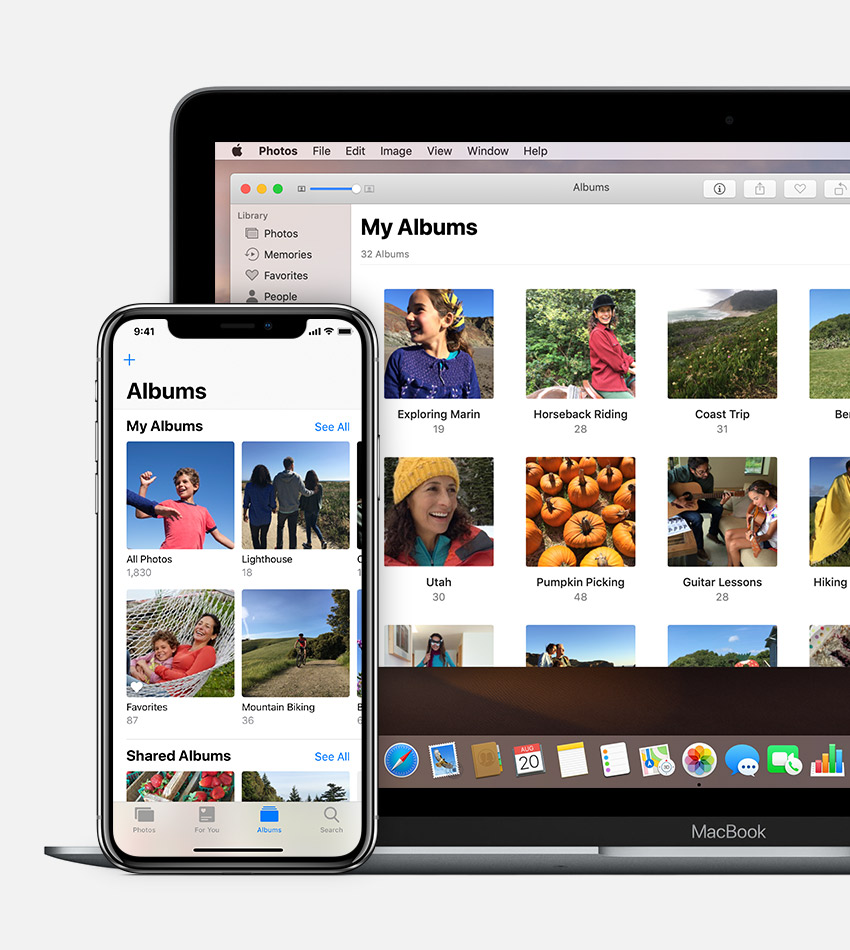 How photos in organize iphoto to